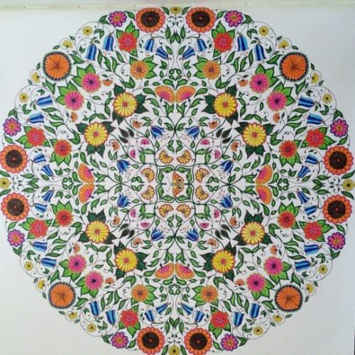 Mandala - Johanna Basford, Hemliga trädgården