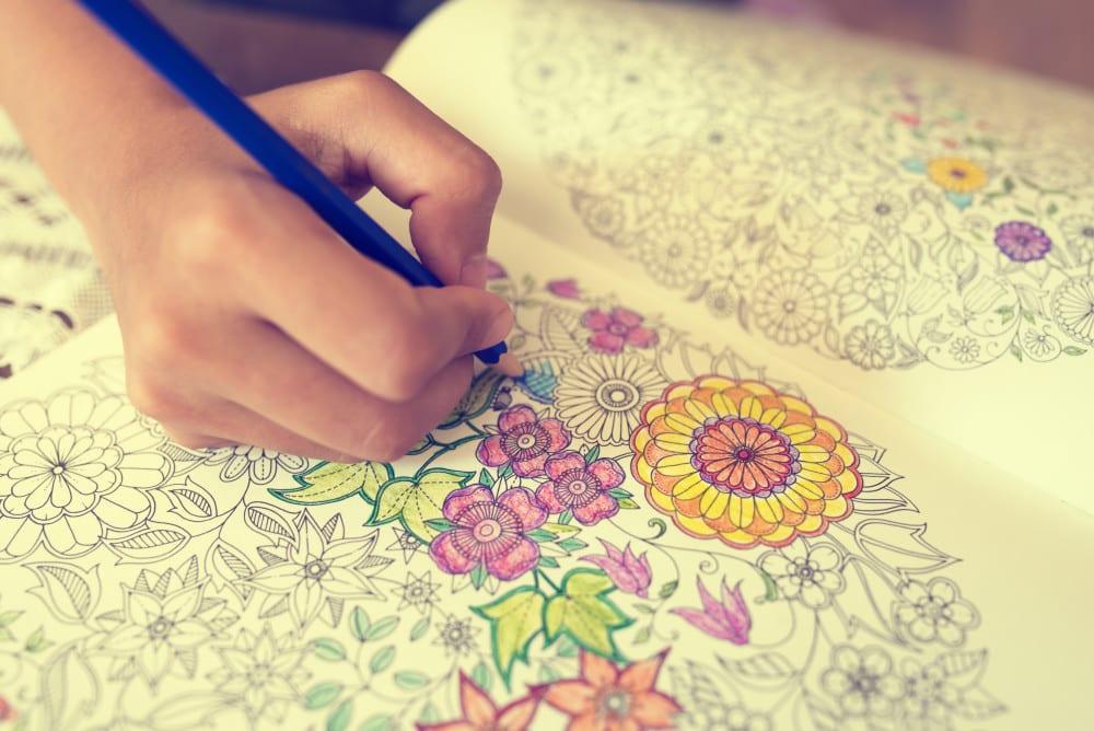 målarböcker för vuxna, målarbok, målarbilder, må bra, bättre hälsa, bra hälsa, välmående, avkoppling, avslappning, hälsotips, mindfulness, mindfullness