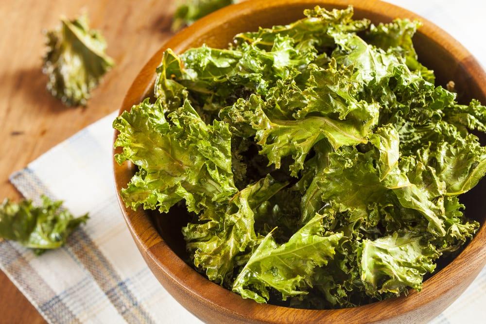 Recept för lyckade grönkålschips