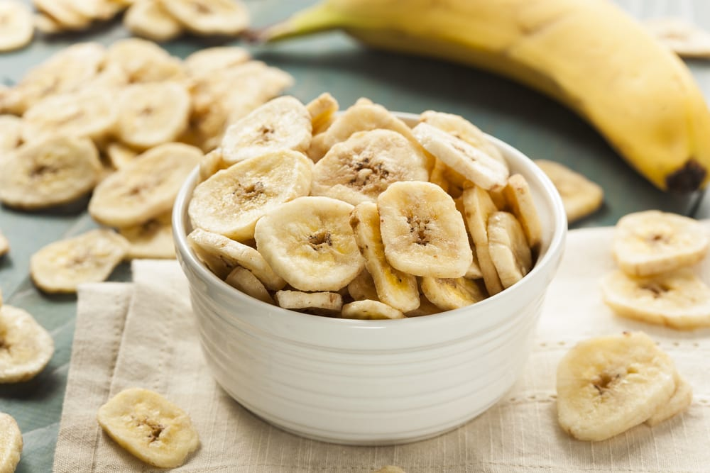 Recept på bananchips