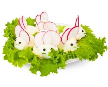 ägg, mus, kokt ägg, möss, äggmus, äggmöss, mat, recept, pyssel, pyssla, DIY, kreativitet