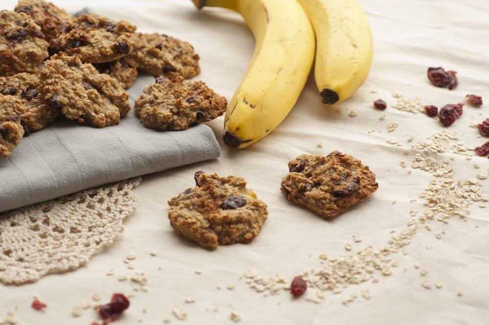 Banan och choklad cookies med bara 5 ingredienser