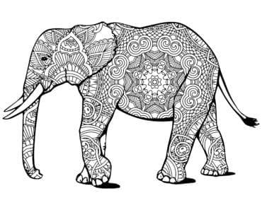 målarbilder, målarbild, gratis målarbilder, gratis målarbild, målarbok, målarböcker, målarbok för vuxna, målarböcker för vuxna, zentangle, mandala, mindfulness, måla, färglägga, mindfullness, doodle, bättre hälsa, bra hälsa, må bra, elefant, djur, safaridjur, djungeldjur, djurmotiv, natur