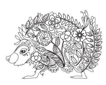 målarbilder, målarbild, gratis målarbilder, gratis målarbild, målarbok, målarböcker, målarbok för vuxna, målarböcker för vuxna, zentangle, mandala, mindfulness, måla, färglägga, mindfullness, bild, bilder, djur, natur, blomma, blommor, igelkott, ornament