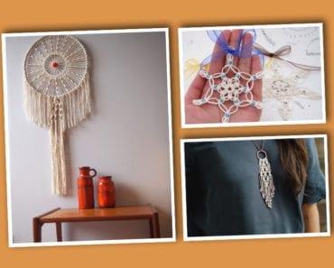 makramé, pyssel, pysseltips, pysselidé, inredning, hem, hemmet, heminredning, smycken, halsband, armband, makraméarmband, ornament, accessoarer, DIY
