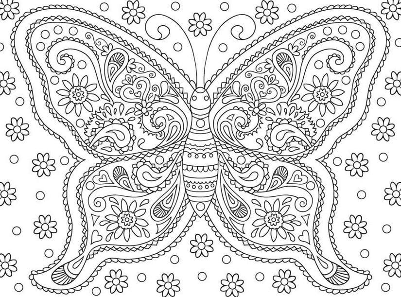 målarbilder, målarbild, gratis målarbilder, gratis målarbild, målarbok, målarböcker, målarbok för vuxna, målarböcker för vuxna, zentangle, mandala, mindfulness, måla, färglägga, mindfullness, doodle, bättre hälsa, bra hälsa, fjäril, fjärilar, fjärilsmotiv