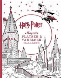 Målarbok Harry Potter: Magiska platser och varelser