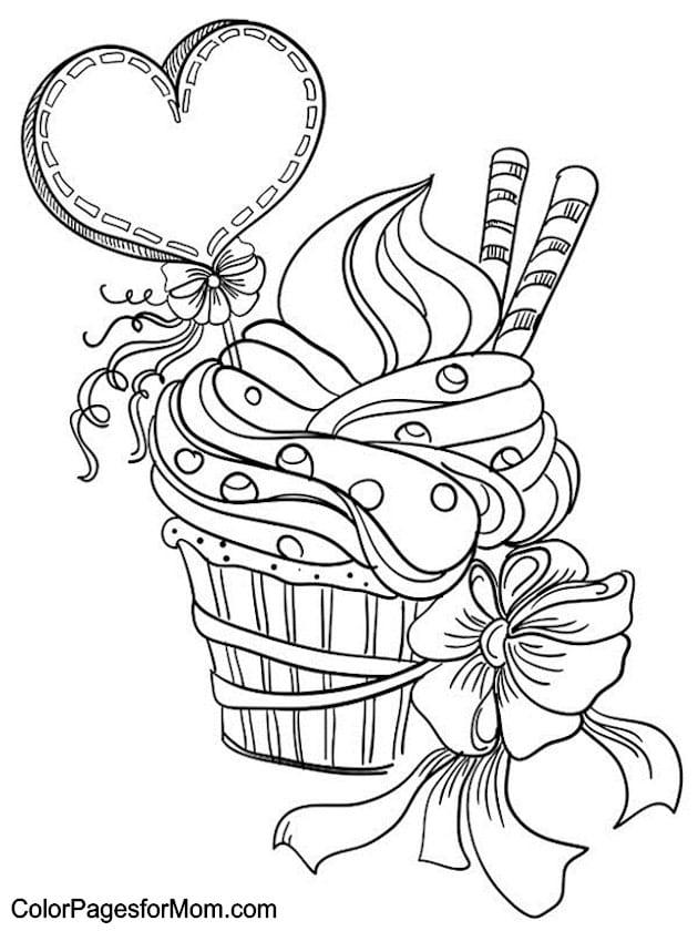 målarbilder, målarbild, gratis målarbilder, gratis målarbild, målarbok, målarböcker, målarbok för vuxna, målarböcker för vuxna, zentangle, mandala, mindfulness, måla, färglägga, mindfullness, doodle, bättre hälsa, bra hälsa, cupcake, kaka, bakelse, bakverk