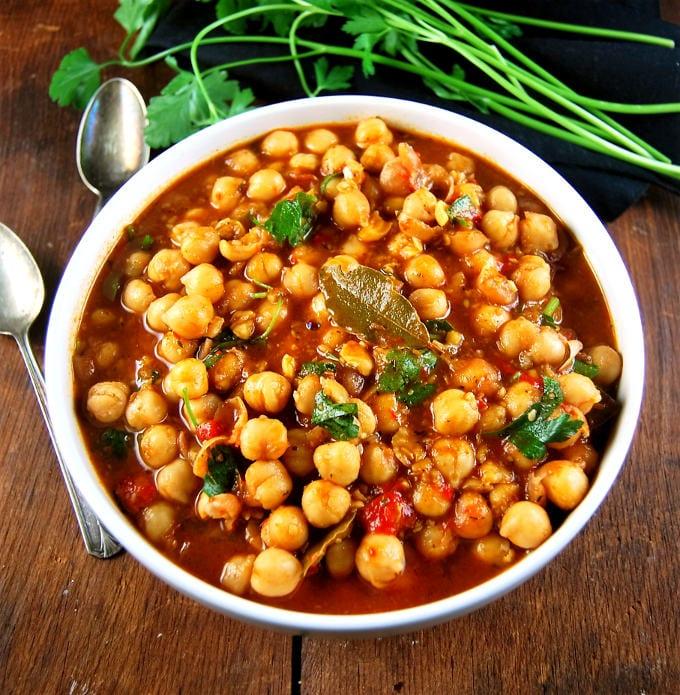 libanesisk mat, mat, matlagning, recept, gryta, grytor, Libanon, kikärtor, kikärtsgryta, vegetarisk mat, vego, vegansk, vegansk mat