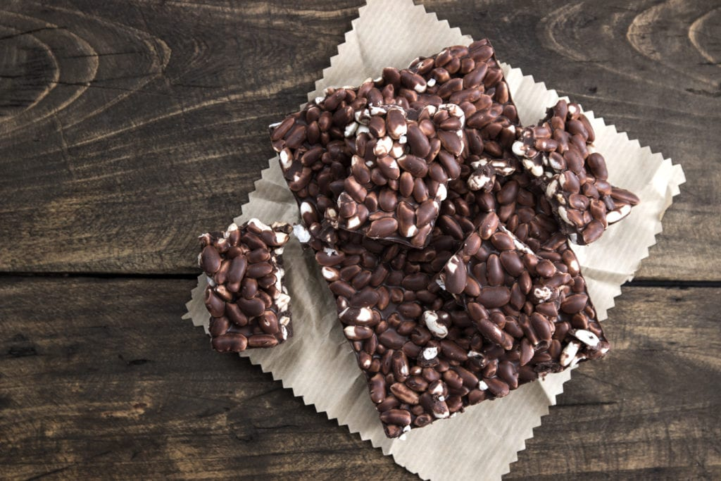 julgodis, godis, choklad, bräck, chokladbräck, recept, julbak, ris, puffat ris, rischoklad