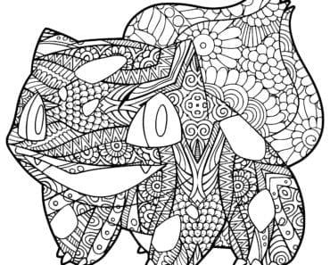 målarbilder, målarbild, gratis målarbilder, gratis målarbild, målarbok, målarböcker, målarbok för vuxna, målarböcker för vuxna, zentangle, mandala, mindfulness, måla, färglägga, mindfullness, doodle, bättre hälsa, bra hälsa, Pokémon, Bulbasaur