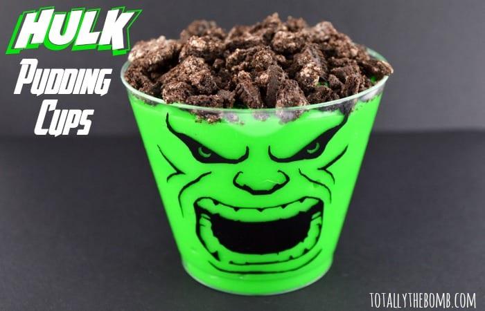pyssel, pyssla, pysseltips, pysselidé, skapa, barnpyssel, familjepyssel, pyssel för barn, bättre hälsa, bra hälsa, må bra, kreativitet, skapande, skaparglädje, baka, baktips, dekorationer, recept, superhjälte, superhjältar, Marvel, The Hulk, Hulken, Den gröna hulken, pudding, chokladpudding, kakpudding