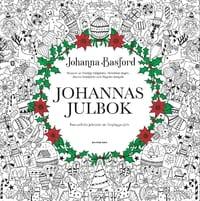 Måla i Johanna Basfords Julbok: Fantasifulla julmotiv att färglägga själv