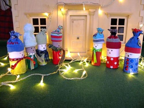 pyssel, pyssla, pysseltips, pysselidé, skapa, barnpyssel, familjepyssel, pyssel för barn, bättre hälsa, bra hälsa, må bra, kreativitet, skapande, skaparglädje, jul, julen, pyssel inför jul, julpyssel, toarulle, toarullar, toarulle pyssel, kör, julkör, sångkör, sjungande barn