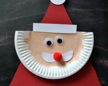 pyssel, pyssla, pysseltips, pysselidé, skapa, barnpyssel, familjepyssel, pyssel för barn, bättre hälsa, bra hälsa, må bra, kreativitet, skapande, skaparglädje, jul, julen, pyssel inför jul, julpyssel, papperstallrik, pyssla med papperstallrikar, tomte, jultomte