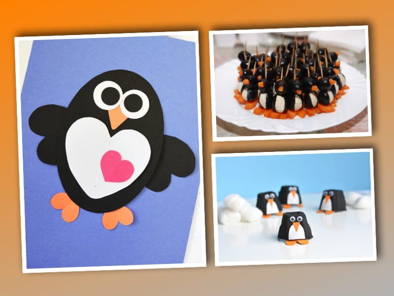 pyssel, pysseltips, pysselidé, inspiration, kreativitet, skapa, skapande, barns skapande, vinter, vinterpyssel, pyssla, pyssel för barn, barnpyssel, pyssel för skola, pyssel för förskola, familjepyssel, pingvin, pingvinpyssel,
