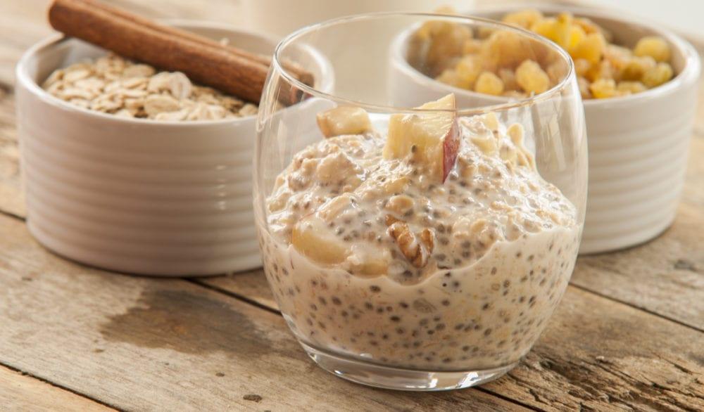 Chiapudding recept mandelmjölk
