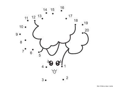 knep, knåp, knep och knåp, knep & knåp, förskola, skola fritids, barnpyssel, pyssel, pyssel för barn, pyssla och lek, lär dig räkna, räkna, dra streck mellan siffror, dra streck, nummer, siffror, lära sig räkna till tjugo, lära sig räkna till 20, matte, matematik, mattepyssel