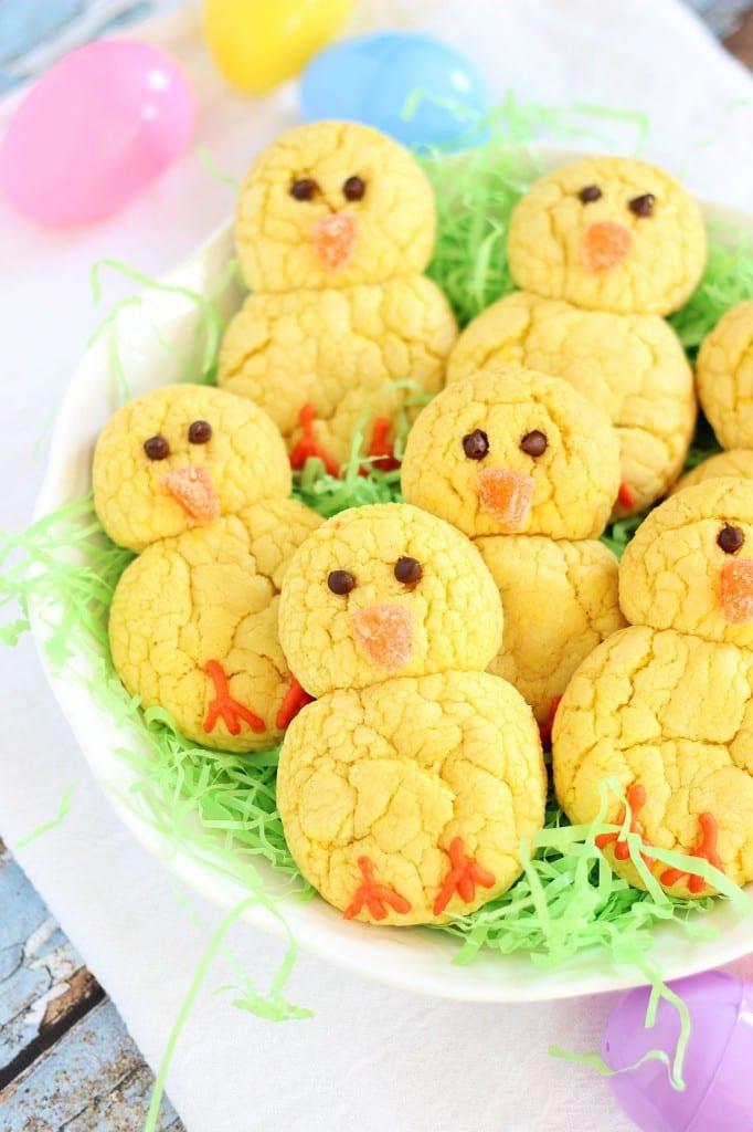 recept, påsk, påskgodis, kaka, småkaka, kakor, småkakor, påskkyckling