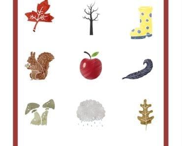 aktiviteter för barn, höst, hösttecken, känna igen höst tecken, barnaktiviteter, pyssla och lek, knep och knåp
