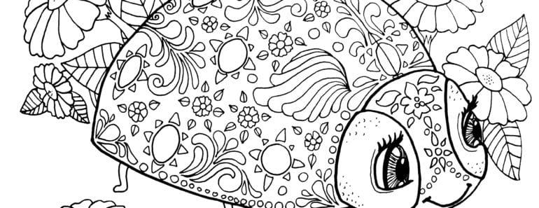 målarbilder, målarbild, gratis målarbilder, gratis målarbild, målarbok, målarböcker, målarbok för vuxna, målarböcker för vuxna, zentangle, mandala, mindfulness, måla, färglägga, mindfullness, doodle, bättre hälsa, bra hälsa, nyckelpiga, nyckelpigor, blomma, blommor, insekt