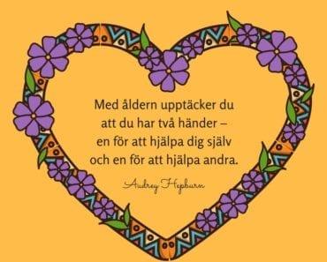 citat, ordspråk, tänkvärdheter, Audrey Hepburn, självmedkänsla, self-compassion, självcompassion