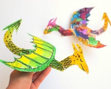 pyssel, barnpyssel, pyssel för barn, aktiviteter, aktiviteter för barn, drake, flygplan, pappersflygplan, pappersdrake