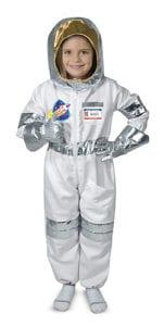 klä ut sig till astronaut, astronautdräkt