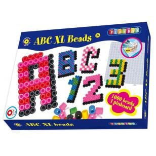 lära sig alfabetet, alfabet, ABC, bokstäver, lära sig bokstäverna, barnpyssel, pyssel för barn, pärla, pärlor, pärlplattemönster