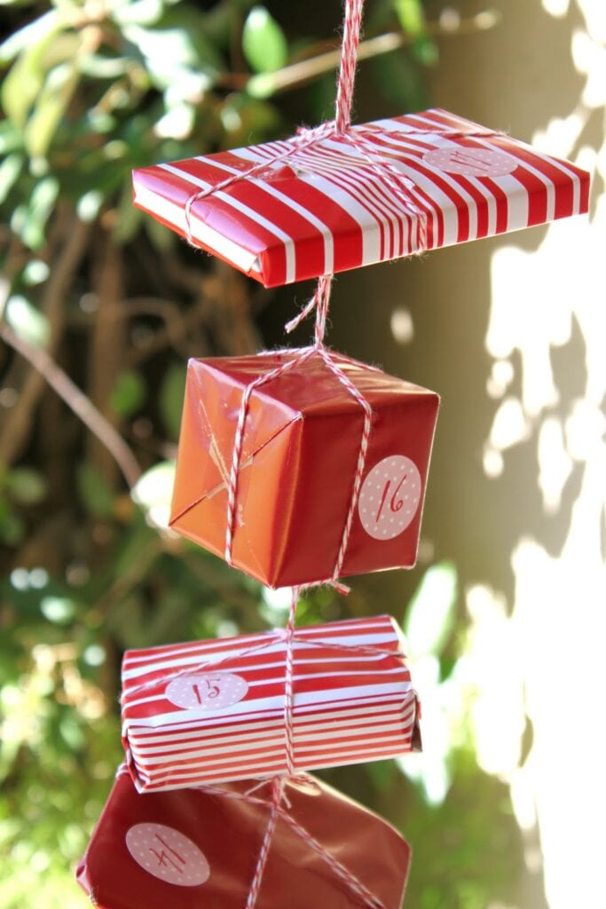 julpyssel, adventspyssel, jul, advent, pyssel, pysseltips, DIY, adventskalender, paket, julpaket, julklapp