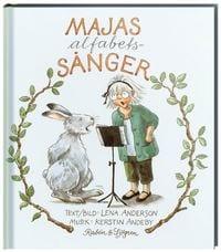 lära sig alfabetet, alfabet, ABC, bokstäver, lära sig bokstäverna, barnpyssel, pyssel för barn, Maja-böcker, Lena Andersson, Majas alfabetssånger, alfabetssång