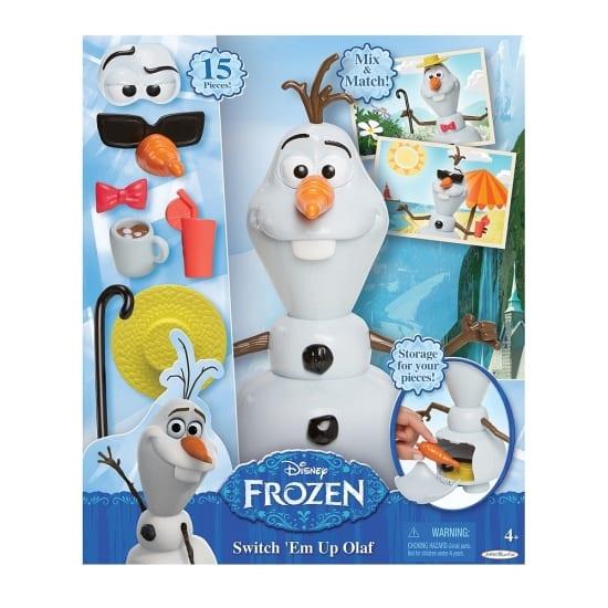 pyssel, barnpyssel, köpa pyssel, pyssel för barn, snögubben Olof, bygga snögubbe
