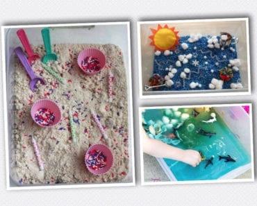 barn, barnlekar, lekar för barn, sensorisk lek, sinneslåda, sinneslådor, sensoriska lekar, stimulera barns sinnen