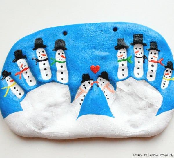 pyssel, pysseltips, pysselidé, barnpyssel, pyssel för barn, snögubbe, snögubbar, vinter, vinterpyssel, julpyssel, pyssel jul, enkla pyssel, roliga pyssel, handavtryck, trolldeg, gör tryck med händer