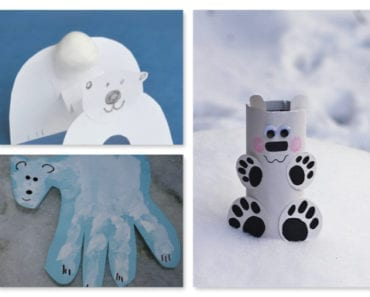 pyssel, pysseltips, pysselidé, barnpyssel, pyssel för barn, vinterpyssel, isbjörnar