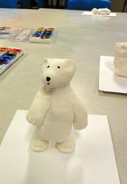 pyssel, pysseltips, pysselidé, barnpyssel, pyssel för barn, vinterpyssel, isbjörnar, leklera, play-doh, playdoh, lera, modellera