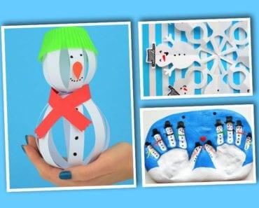 pyssel, pysseltips, pysselidé, barnpyssel, pyssel för barn, snögubbe, snögubbar, vinter, vinterpyssel, julpyssel, pyssel jul, enkla pyssel, roliga pyssel
