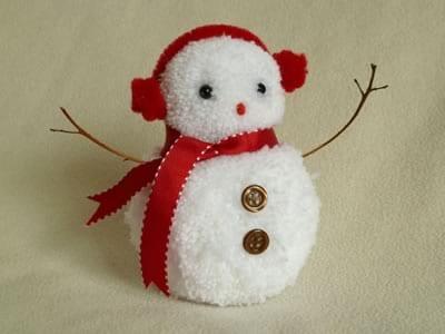 pyssel, pysseltips, pysselidé, barnpyssel, pyssel för barn, snögubbe, snögubbar, vinter, vinterpyssel, julpyssel, pyssel jul, enkla pyssel, roliga pyssel, göra garnboll, garnbollar