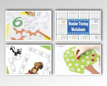 aktiviteter för barn, barnaktiviteter, pyssla och lek, knep och knåp, lektioner, skola, lektionstips, förskola, mattepyssel, matematik, lära sig räkna, lära sig matte