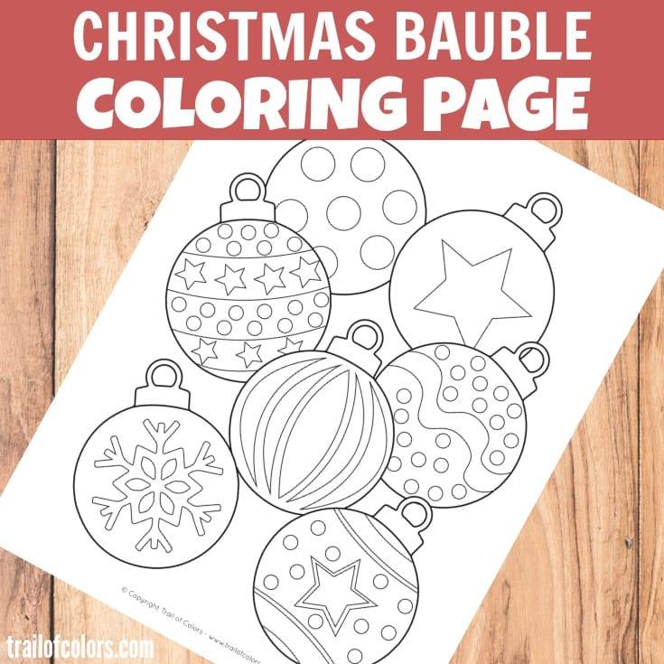 aktiviteter för barn, barnaktiviteter, pyssla och lek, knep och knåp, lektioner, skola, lektionstips, förskola, julpyssel, julpyssel för barn, målarbilder, målarbild jul, julmotiv, julgranskulor