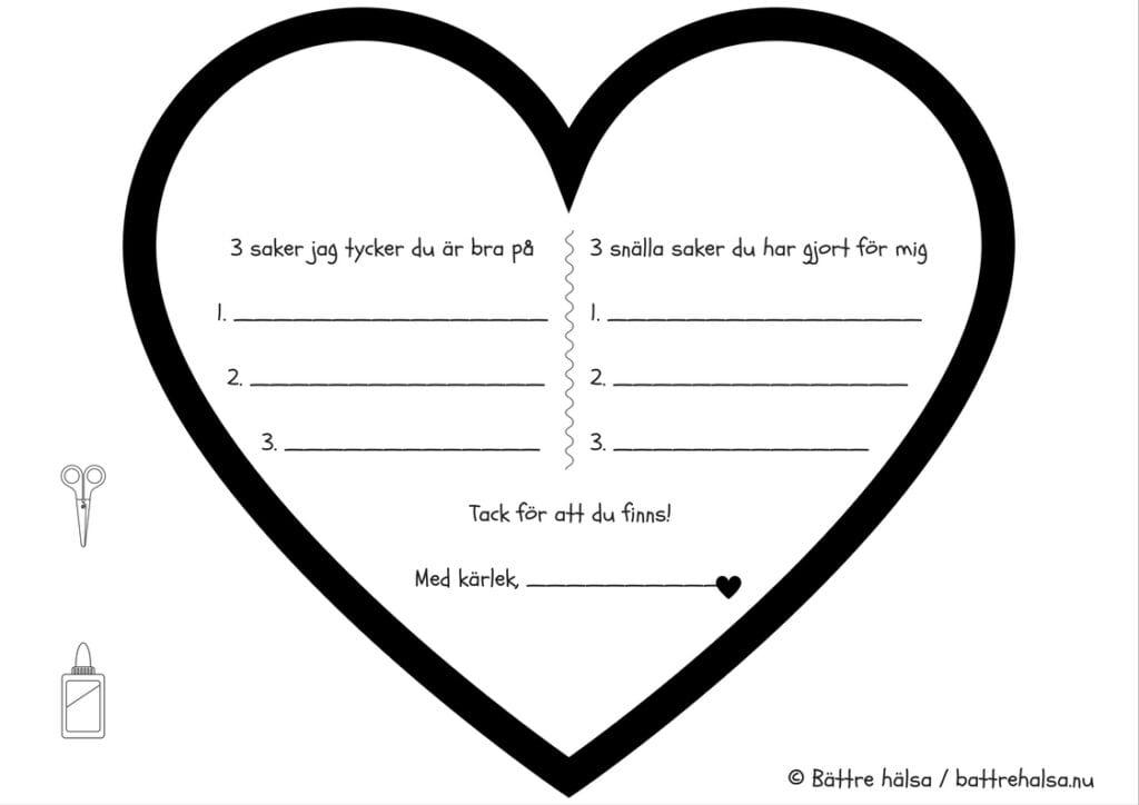 alla hjärtans dag-pyssel