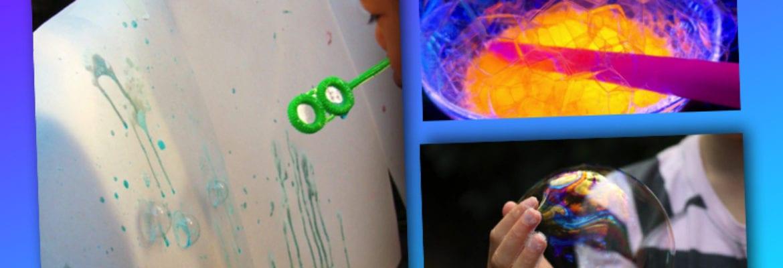 barnpyssel, pyssel för barn, barnaktiviteter, aktiviteter för barn, lek med såpbubblor