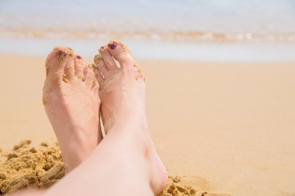 stranden bra för hälsan
