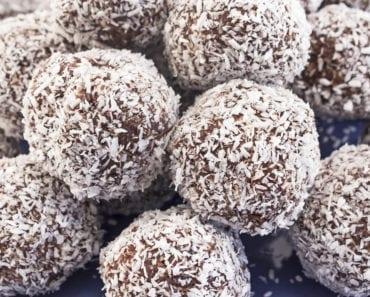 recept för barn, recept, baka med barn, chokladbollar, chsokladbollsrecept