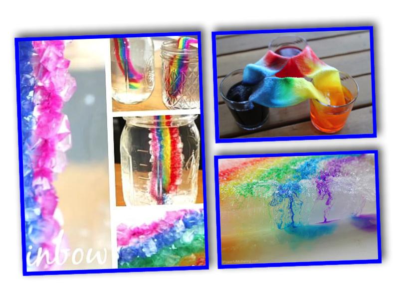 regnbågsexperiment, färgexperiment