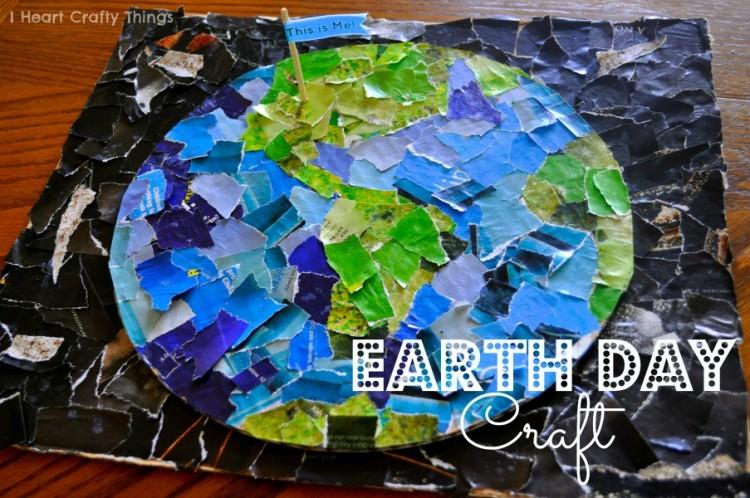 barnpyssel, pyssel för barn, Jordens dag, FN-dagen