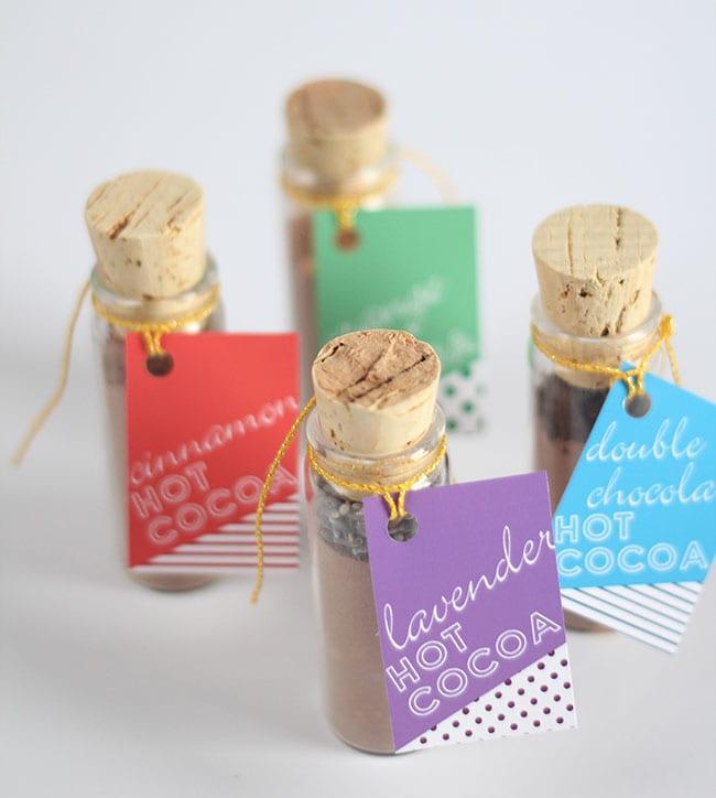 Pysseltips – ge bort exklusiv varm choklad med en personlig touch i present