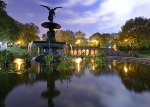 resa, resor, USA, New York, Central Park, saker att göra, park, resa till New York, Bethesda Terrace