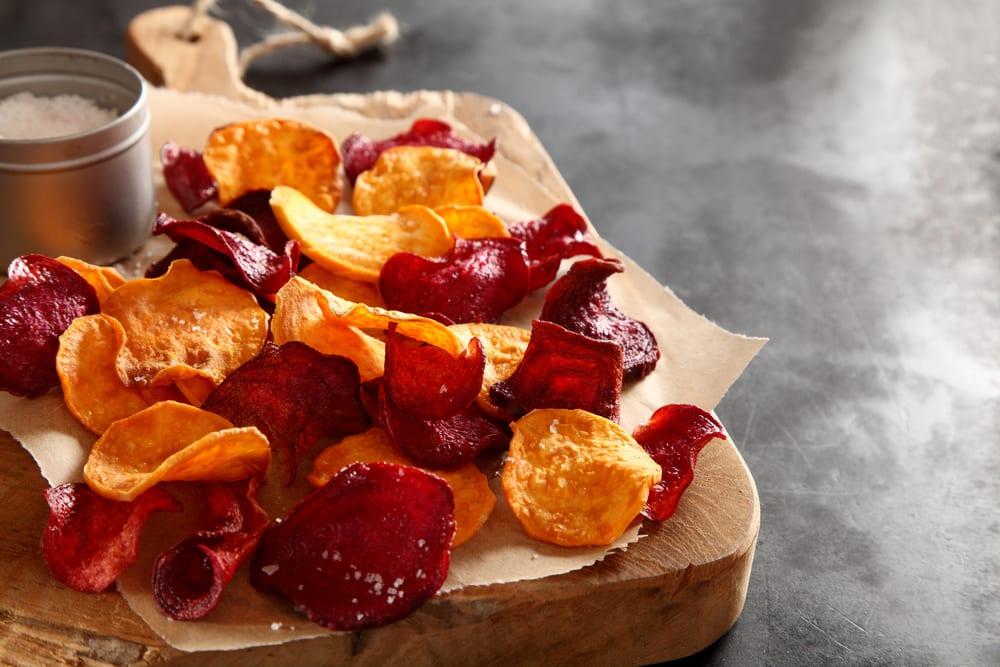 Recept på chips av rotfrukter