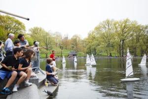 resa, resor, USA, New York, Central Park, saker att göra, park, resa till New York, Kerbs Boathouse, modellbåt